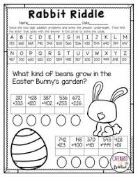 be9a945e9c4bde75e295a32042fdd32d maths easter easter math ideas easter word problems free 2 oa 1 solve word problems involving on word problems with integers worksheet