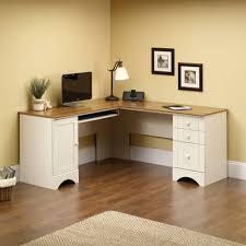 antique white corner desk computer