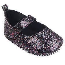 DZT1968 Baby Girl <b>Soft Sole</b> Crib Shoes Sequins Non-Slip Toddler ...