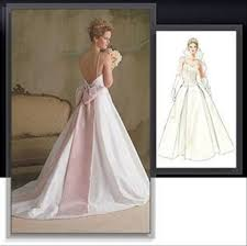 Wedding Dress Patterns To Sew Adorable Sewing Patterns Wedding Dresses