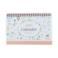 standup desk calendars stand up desk calendar for office september 2017 through december 2018
