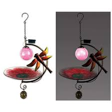 Sunset Vista Designs Amazon Com Sunset Vista Designs Solar Hanging Birdfeeder