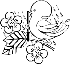 Small Picture 89 ideas Coloring Pages Birds Flowers on cleanrrcom