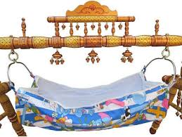 baby cradle wooden swing folding strong indian