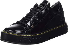D. Franklin Gumme Patent Black, Sneakers Basses Femme, Noir (Negro 0020),  36 EU: Amazon.fr: Chaussures et Sacs