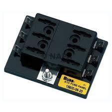 fuse block atc way bk buy online napa auto parts fuse block atc 6 way bk 7825316