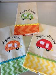 Embroidery Camper Designs Cutest Dish Towels Ever Machine Embroidery Designs Crafts