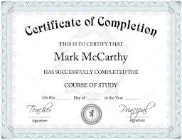 printable word certificate completion templates printable word certificate completion templates dimension n tk