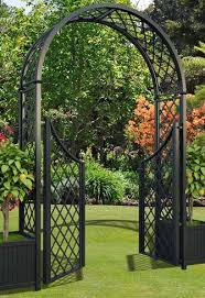 metal rose arches garden arches and