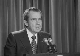 watergate scandal timeline nixon makes brief statement on watergate 4 17 73