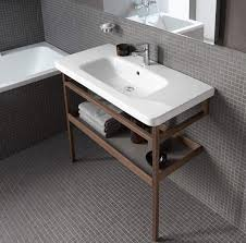 Duravit Bathroom Sink Wooden Washbasin Stand Ds988 Series By Matteo Thun Antonio