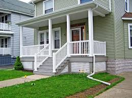 vinyl porch railing systems jburgh homes optional porch