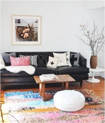 decorating around a leather sofa
