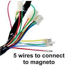 complete electrics 50cc 70cc 110cc 125cc atv quad coil cdi assembly wire harness
