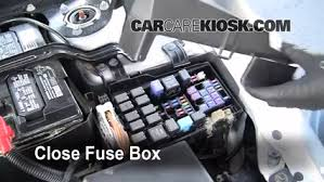 blown fuse check mazda mazda i l cyl 6 replace cover secure the cover and test component