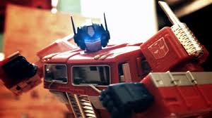 Transformers toys stop motion