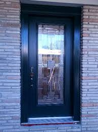 fiberglass wood front entry doors on pertaining to single glass exterior door idea 8 stained