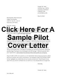 Sample Airline Pilot Resume Sample Cover Letter Airline Pilot Fishingstudio 53