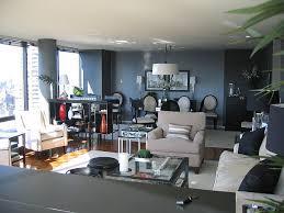 Gray Sofa  Contemporary  Living Room  The Elegant AbodeBlue And Gray Living Room Ideas