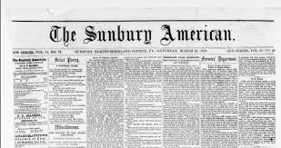 civil war blog newspaper writing style  sunbury american