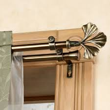 curtain rods curtain rods double dry rod