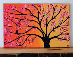 tree paintings on canvas abstract tree paintings tree landscape paintings on canvas