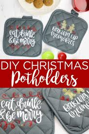 Looking for christmas images and vectors? Diy Christmas Potholders With A Cricut The Country Chic Cottage