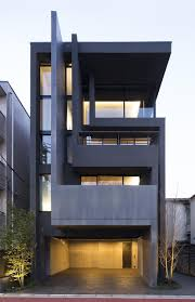 apartment building design. OKM: 4 Story Building Designed For A Private Residence And Apartment In Tokyo By Artechnic - CAANdesign Design P