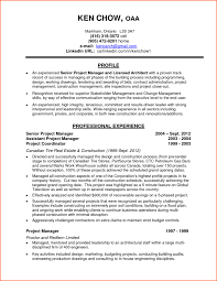 construction project manager resume accomplishments ersum net