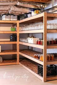 building wooden shelf basement shelving by the wood grain cottage diy decorative wood shelf brackets diy building wooden shelf