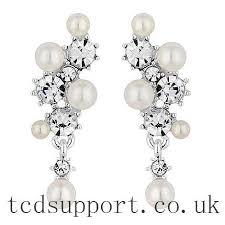 classic alan hannah devoted pearl cer drop earrings earrings style