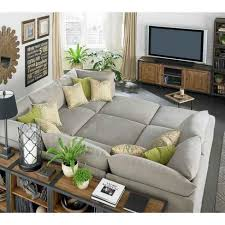 Sectional Sofas: Furniture: Comfortable Oversized Sectional Sofas For Your  Living Intended For Large Comfortable