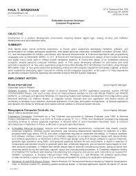 Generic Objective For Resume Generic Resume Objective Resume