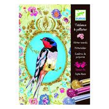 <b>Набор для творчества DJECO</b> 09501 Блестящие птицы — купить ...