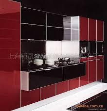modern glass door for kitchen cabinet