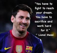Messi Quotes Mesmerizing Lionel Messi Quotes WeNeedFun