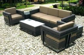 brown resin wicker planters chairs costco furniture cushions all weather patio home improvement appealing furnitu marvelous