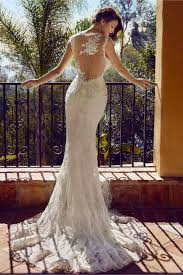 Wedding Dresses With Unique Backs That Make You Say Wow White Wedding Dress Wow