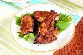 easy oven baked dry rub en wings