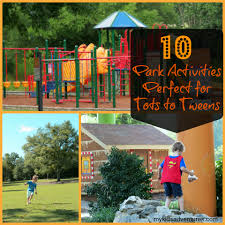 Fun Babysitting Ideas 10 Ways To Turn The Local Park Into An Adventure Wonderland For Kids