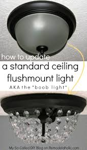 say no to ugly ceiling lights update the standard dome light the
