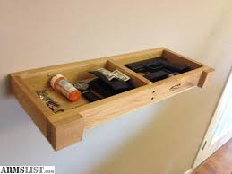 ARMSLIST For Sale Wall Shelf with Secret partment to hide