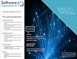 Brochure Software Compliance