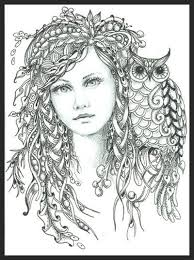 Small Picture 606 best Drawing whimsical girls images on Pinterest Art faces