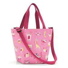 <b>Сумка</b>-<b>шоппер детская Reisenthel Shopper</b> Xs Abc Friends Pink ...