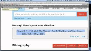 How To Create A Citation And An Annotated Works Cited Page