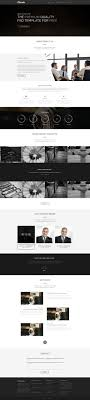 corporate and business web templates psd one page corporate agency web template psd