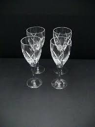 waterford red wine glasses marquis by holiday all purpose set of four crystal glassware clannad