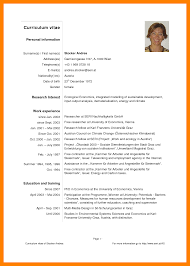 Cv English Example Resume Cv Example Pdf Cv English Example Pdf