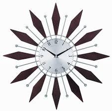 dcor design telechron 20 harper sunburst wall clock